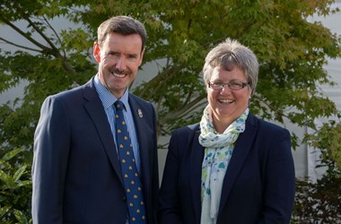Ken Nottage, CE Three Counties and Diana Walton, Head of Shows Three Counties.jpg